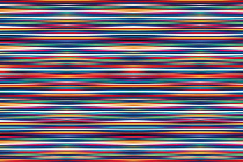 carta da parati a righe optical in vinile energetic - glamora - Carta Da Parati A Righe Colorate