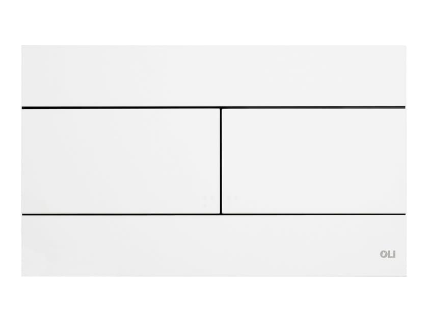 ABS flush plate SLIM WHITE - OLI