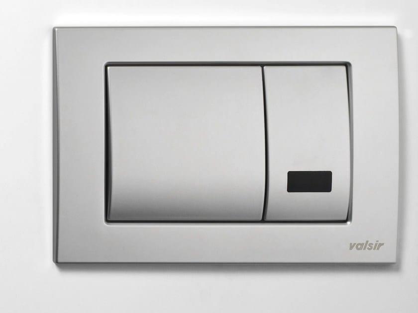 Metal flush plate INFRAROSSA DUAL - Valsir