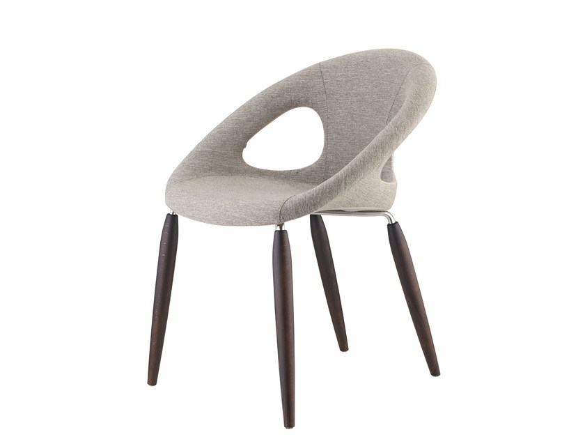 Fabric easy chair NATURAL DROP POP - SCAB DESIGN