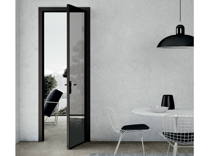 Hinged crystal door MODO | Hinged door - MOVI ITALIA
