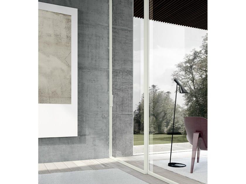 Glass sliding door MODO | Sliding door - MOVI ITALIA