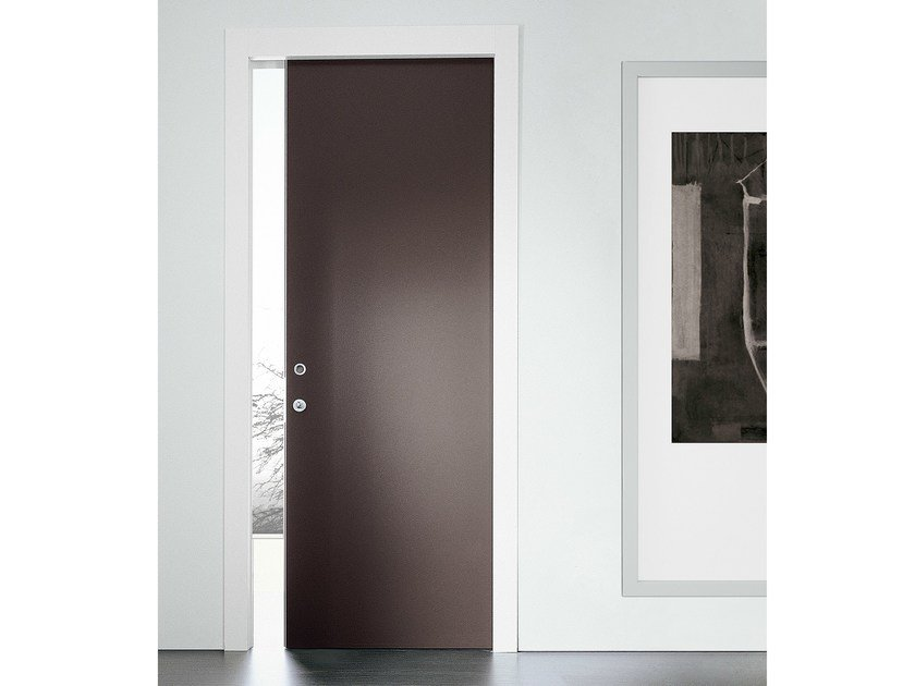 Lacquered pocket sliding door DELO | Pocket sliding door - MOVI ITALIA
