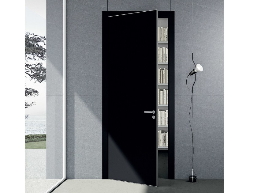 Hinged lacquered door DELO | Hinged door - MOVI ITALIA