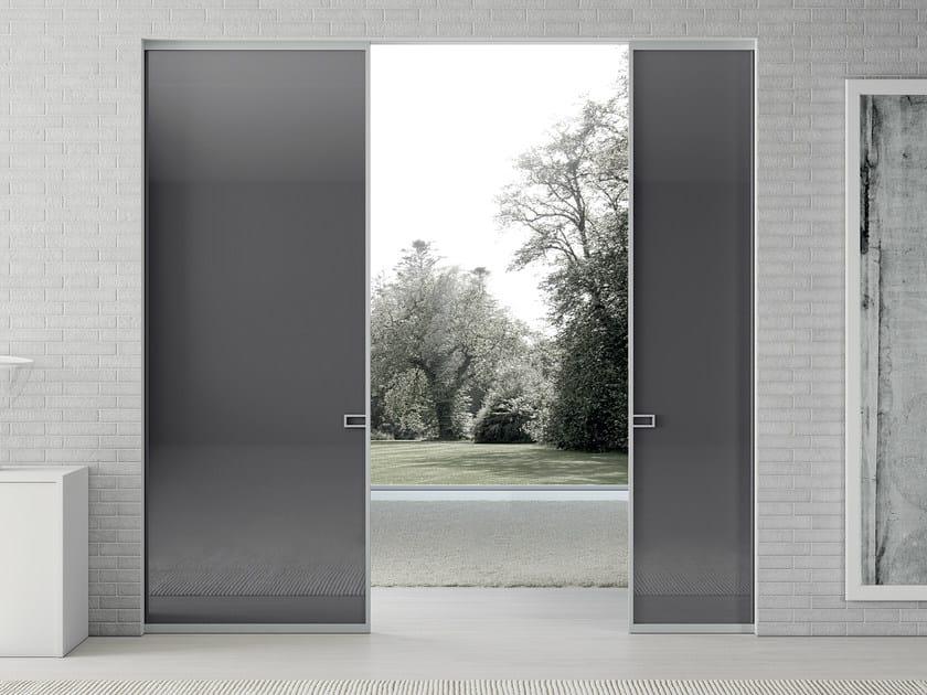 Crystal pocket sliding door LESS | Pocket sliding door - MOVI ITALIA