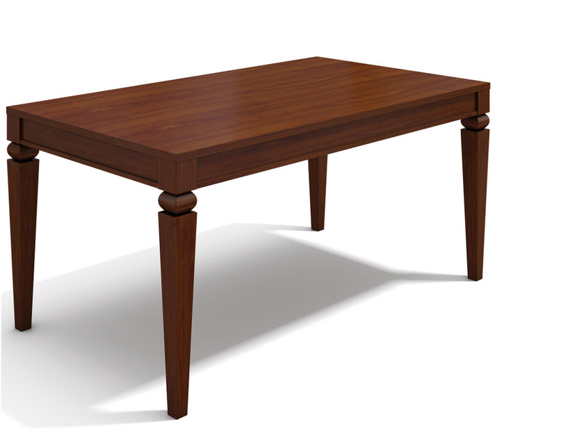Extending rectangular wooden table VARIA QUEEN - SELVA