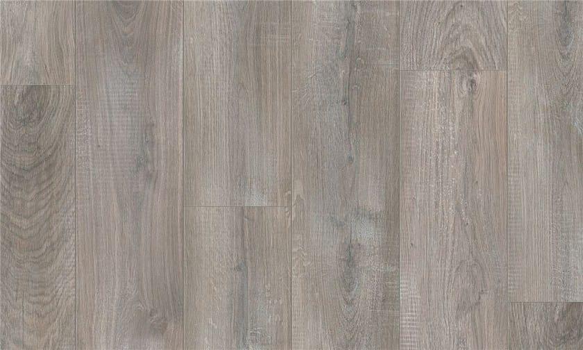 Pavimento in laminato effetto legno ROVERE GRIGIO SBIANCATO - Pergo