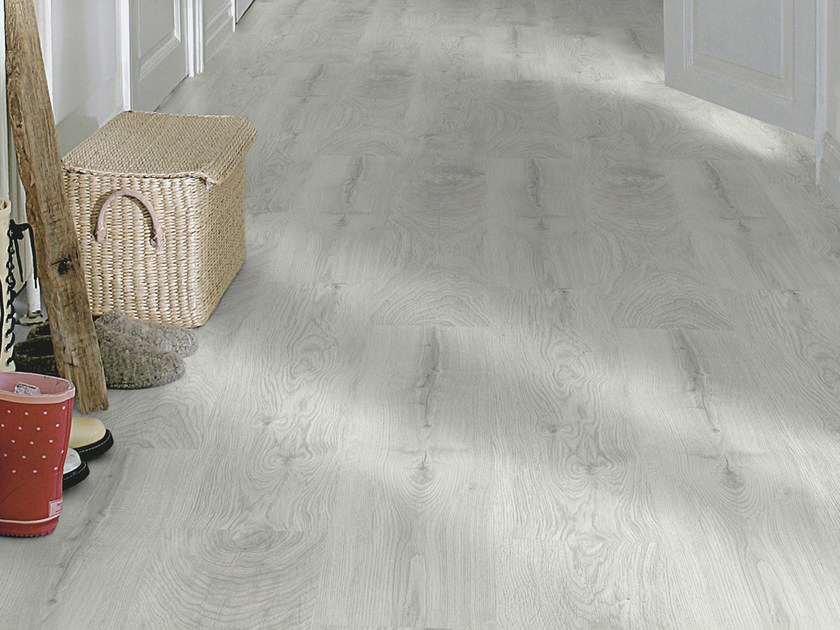 Laminate Flooring With Wood Effect Silver Pine Plank By Pergo