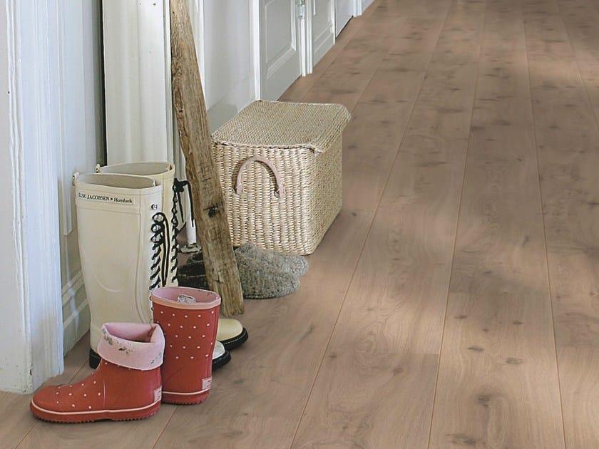 Laminate flooring with wood effect DRIFT OAK by Pergo