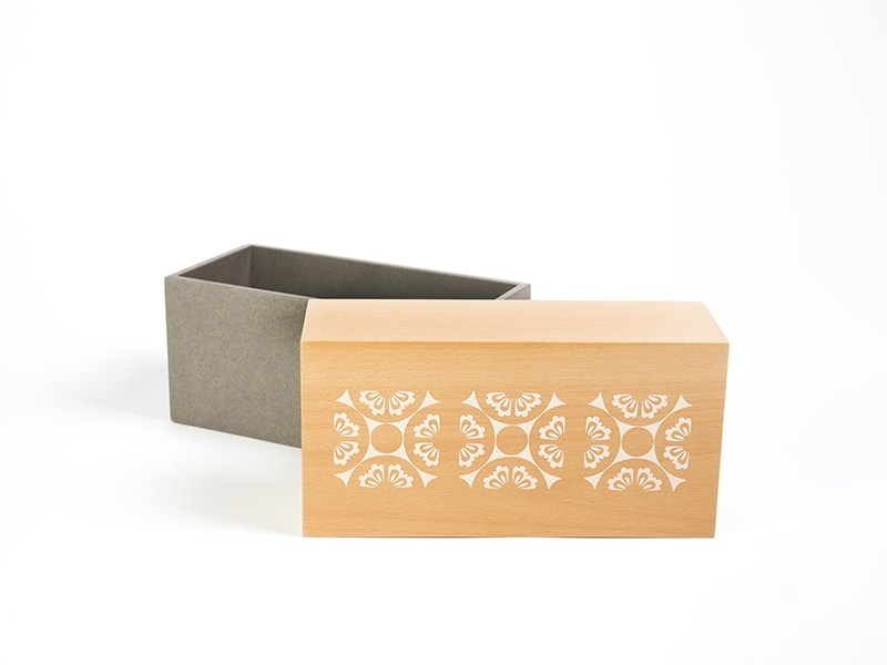 Wooden storage box DUAL - Nevoa