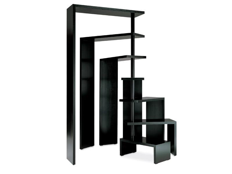 Swivel freestanding bookcase JOY by Zanotta