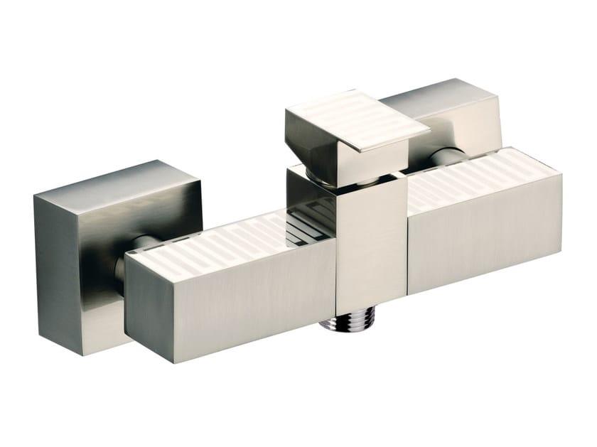 Wall-mounted single handle bathtub mixer SKYLINE DEKORA   Bathtub mixer by Daniel Rubinetterie