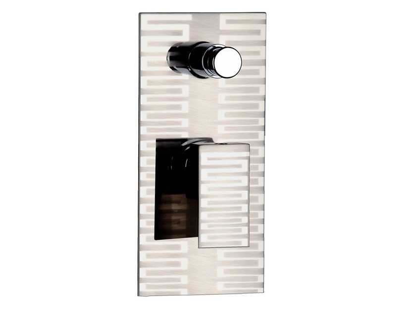 Single handle shower mixer with diverter SKYLINE DEKORA | Shower mixer with diverter - Daniel Rubinetterie