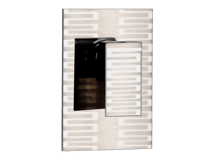 Single handle shower mixer with plate SKYLINE DEKORA | Shower mixer - Daniel Rubinetterie