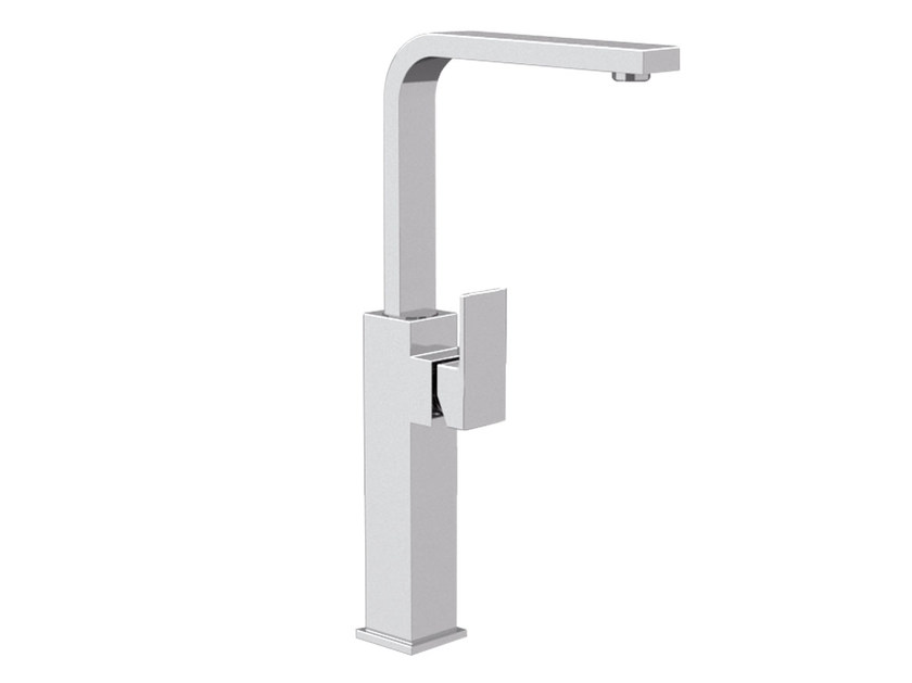 Single handle washbasin mixer with adjustable spout SKYLINE | Single handle washbasin mixer by Daniel Rubinetterie
