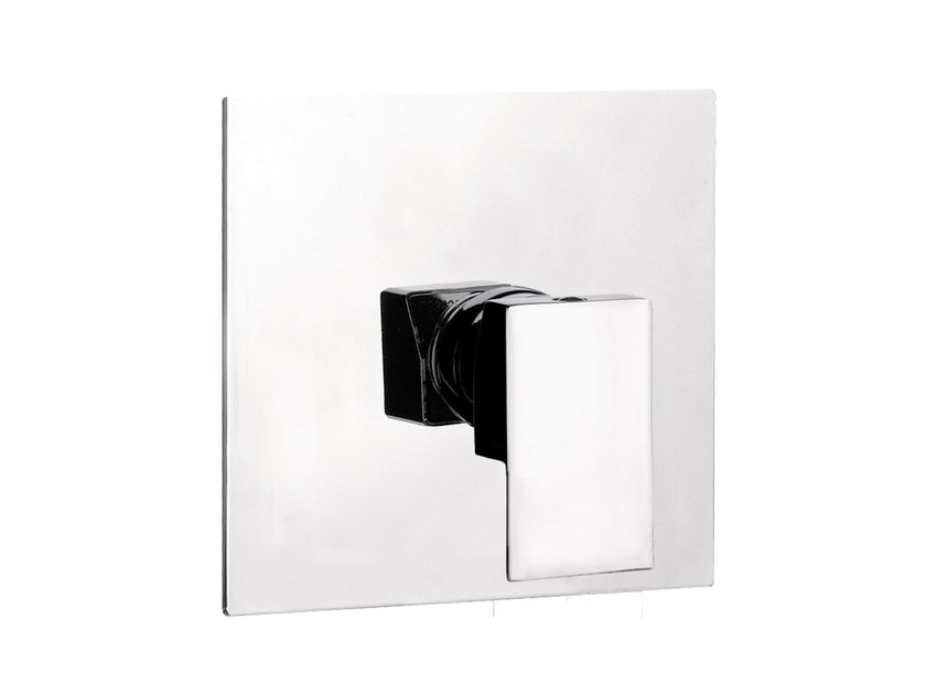Single handle shower mixer with plate SKYLINE | Single handle shower mixer - Daniel Rubinetterie
