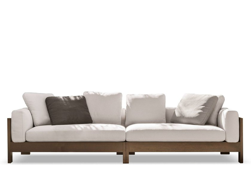 Outdoor sofa ALISON DARK BROWN OUTDOOR by Minotti