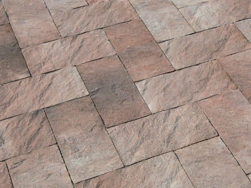 Concrete paving block FLORENTIA - Gruppo Industriale Tegolaia