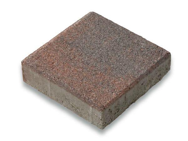 Concrete paving block CORSO® 24 - Gruppo Industriale Tegolaia