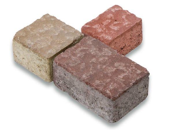Concrete paving block TESSELLA® - Gruppo Industriale Tegolaia