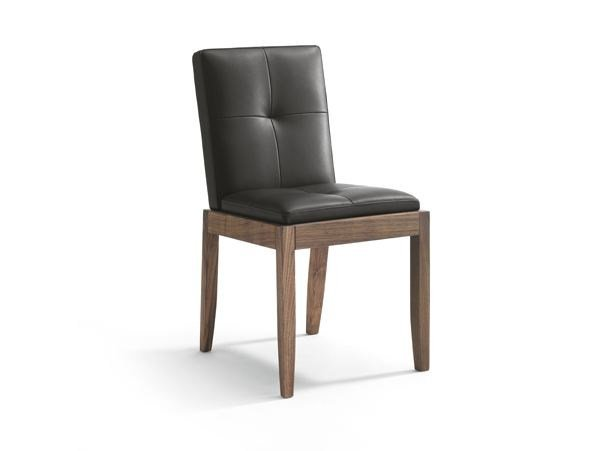 Upholstered leather chair BEVER | Chair - Riva 1920