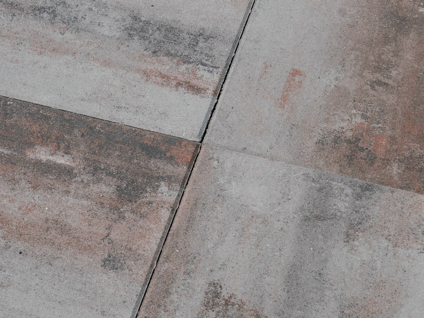 Concrete paving block PIASTRA 50 - Gruppo Industriale Tegolaia