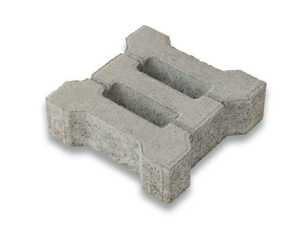 Concrete Grass mesh ERBORELLA® by Tegolaia