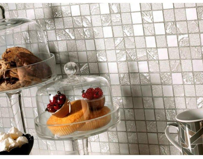 Mosaico in gres porcellanato four seasons ceramiche - Piastrelle mosaico cucina ...