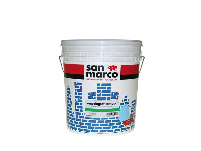 Plastic paint VENEZIAGRAF COMPACT ANTIALGA - Colorificio San Marco