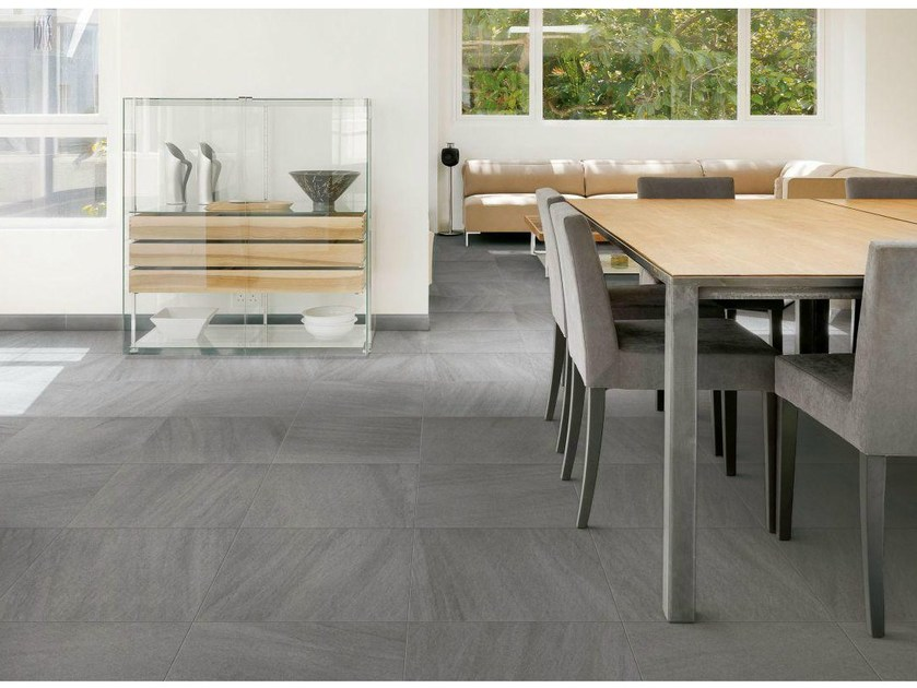 Pavimento in gres porcellanato stockholm by ceramiche for Carrelage gris clair brillant