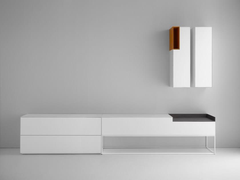 inmotion sideboard by mdf italia design eva paster. Black Bedroom Furniture Sets. Home Design Ideas