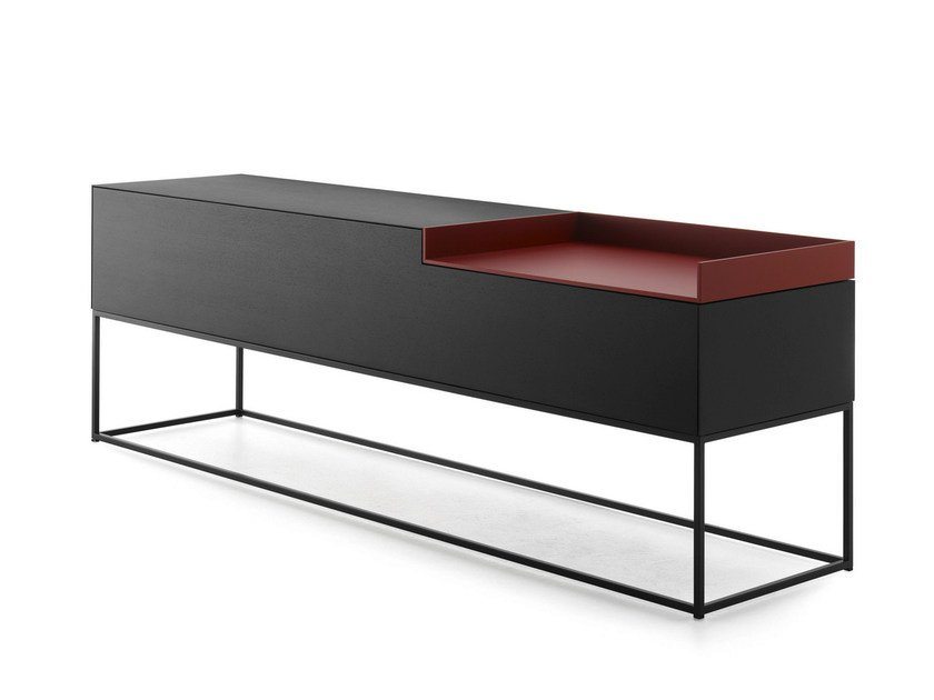 Lacquered MDF sideboard INMOTION | Sideboard by MDF Italia
