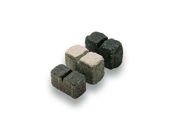 Concrete paving block TASSELLO - Gruppo Industriale Tegolaia