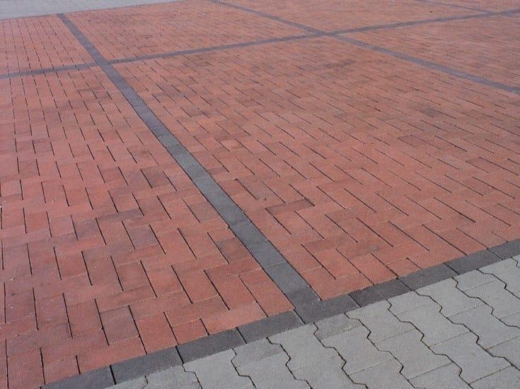 Concrete paving block ROLL T - Gruppo Industriale Tegolaia