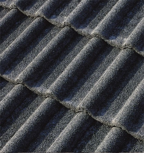 Cement roof tile DOLOMITEN2 QUARZATA - Gruppo Industriale Tegolaia