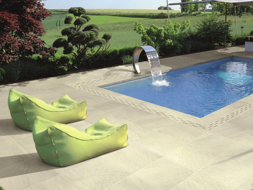 Porcelain stoneware outdoor floor tiles STOCKHOLM T20 - Ceramiche Supergres