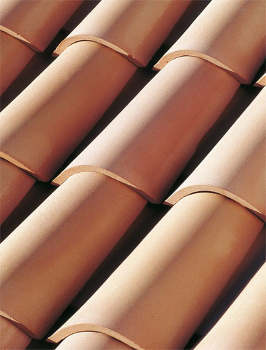 Clay bent roof tile COPPO GALLURA - Gruppo Industriale Tegolaia