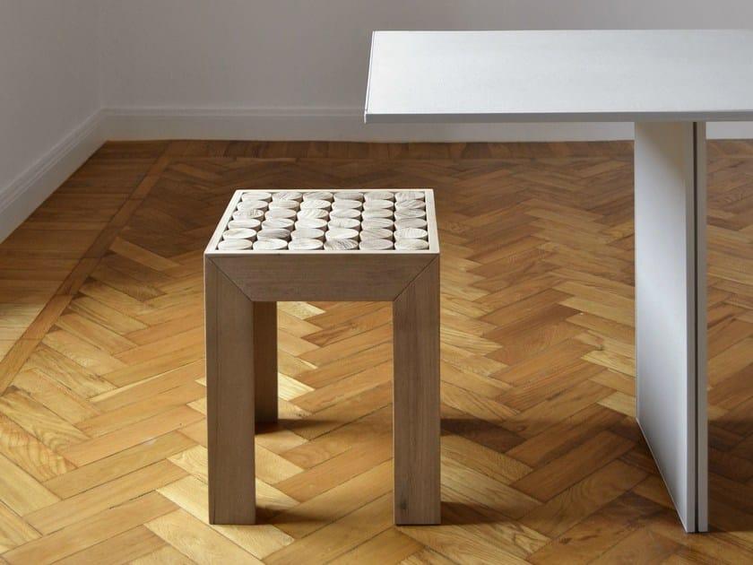 Solid wood stool SOFIA | Stool - mg12