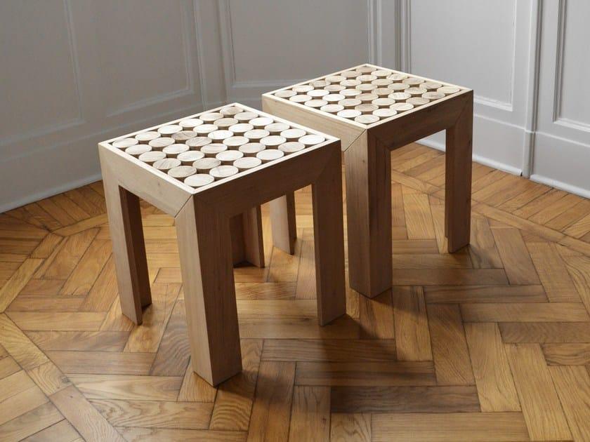 Solid wood stool SOFIA | Stool by mg12