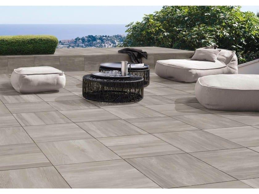 Porcelain stoneware outdoor floor tiles TRAVEL T20 - Ceramiche Supergres