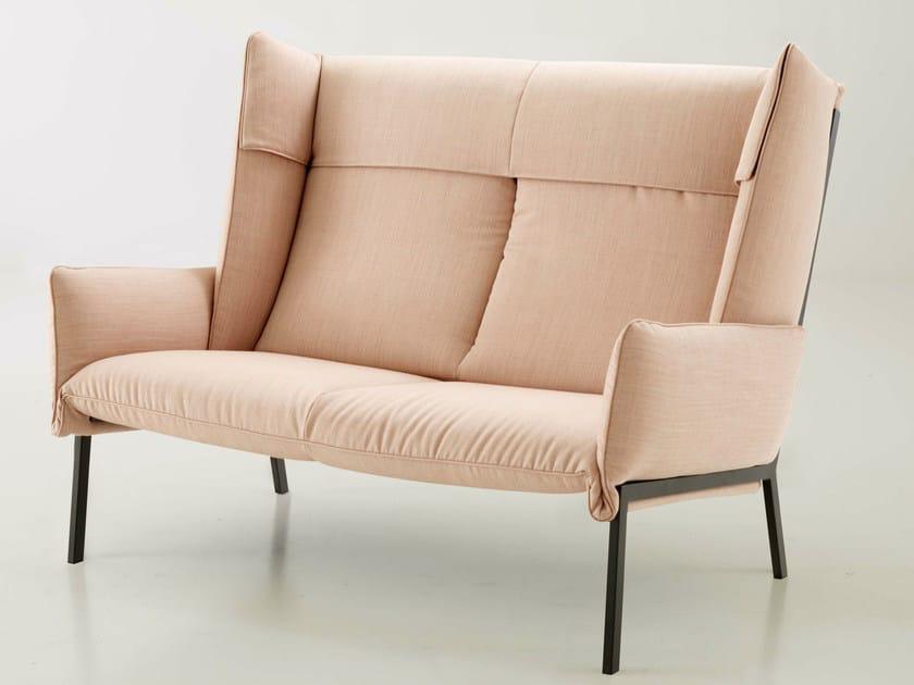 Fabric small sofa BEAU FIXE | Small sofa - ROSET ITALIA