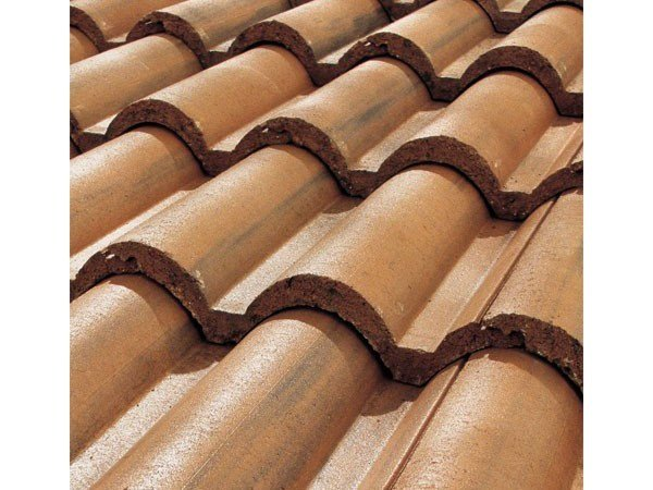 Cement roof tile SUPERCOPPO® ANTICATO by Tegolaia