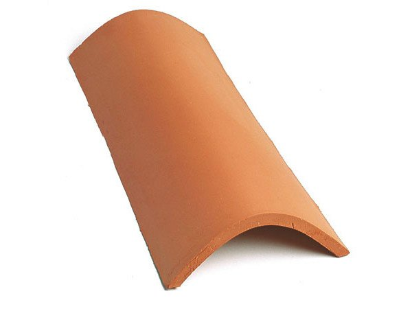 Circular clay ridge tile Ridge tile - Gruppo Industriale Tegolaia