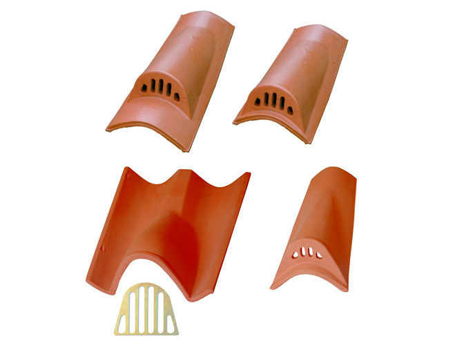 Clay roof tiles vent Roof tiles vent - Gruppo Industriale Tegolaia