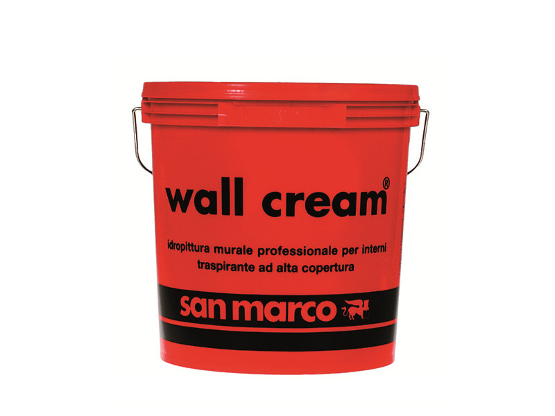 Breathable water-based paint WALL CREAM - Colorificio San Marco