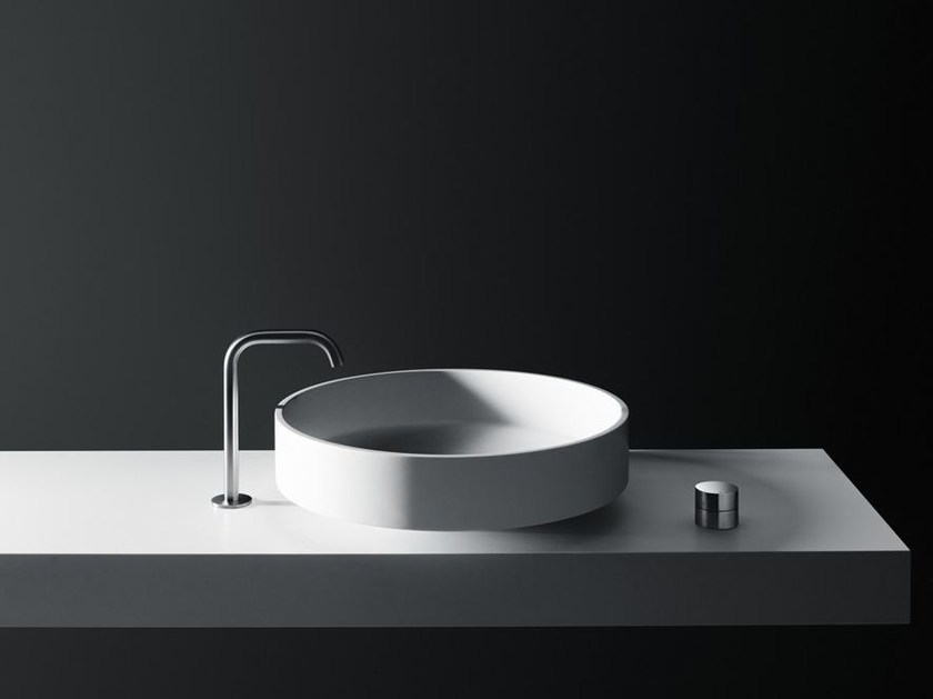 Countertop Cristalplant® washbasin LOTUS | Countertop washbasin - Boffi