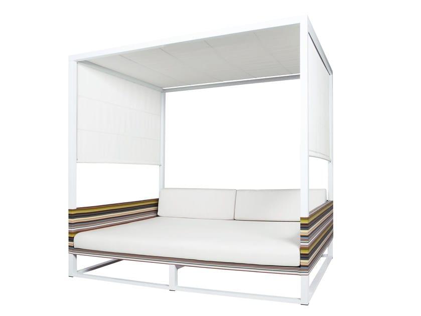 Canopy Sunbrella® garden bed STRIPE | Garden bed - MAMAGREEN