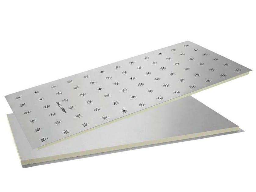 Polyurethane Radiant floor panel HENCO FLOOR ALUTOP - Henco by Cappellotto