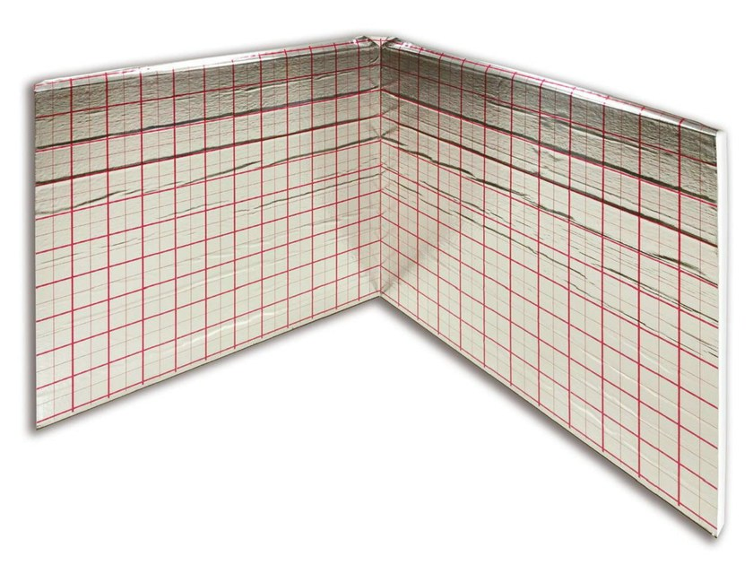 EPS Radiant floor panel REXBOOK WHITE - Henco by Cappellotto