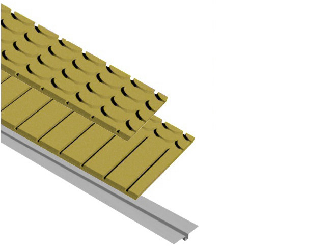 Wood fibre Radiant floor panel HENCO FLOOR BIO - Henco by Cappellotto